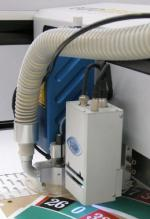 Laserschneideanlage mit Schmauchabsaugung