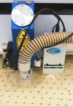 Laserschneideanlage mit Kamerasystem